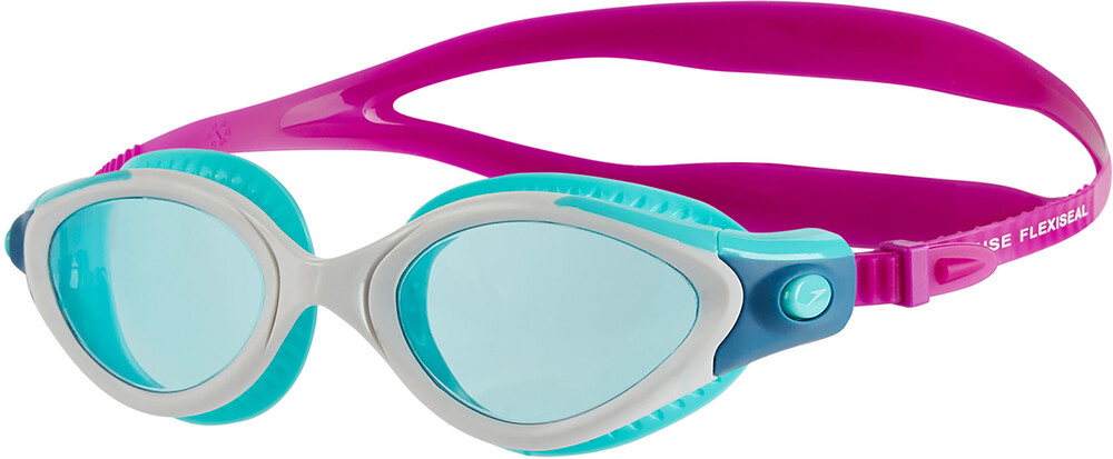 speedo Futura Biofuse Flexiseal Mirror - Lunettes de natation - gris/bleu 2018 Lunettes de natation U3JXzJJ